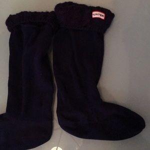 Huger Boot Socks TALL size Medium